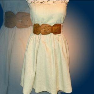 Belted Cocktail Dress